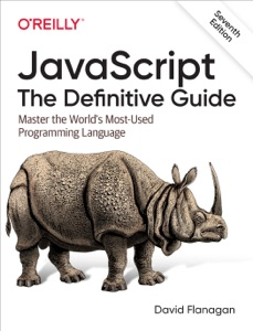 JavaScript: The Definitive Guide Book Cover