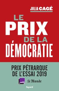 Le prix de la démocratie La couverture du livre martien