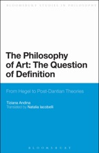 The Philosophy Of Art: The Question Of Definition