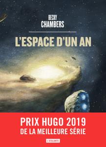 L'espace d'un an La couverture du livre martien