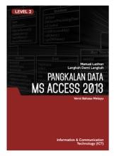 Pangkalan Data (Microsoft Access 2013) Level 2