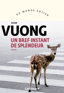 Un bref instant de splendeur par Ocean Vuong Couverture de livre