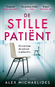 De stille patiënt Boekomslag