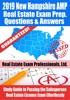 2019 New Hampshire AMP Real Estate Exam Prep Questions, Answers & Explanations: Study Guide To Passing The Salesperson Real Estate License Exam Effortlessly