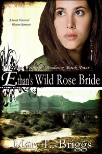 Ethan's Wild Rose Bride (Texas Frontier Brides Book 2)