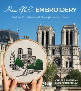 Mindful Embroidery Book Cover