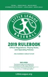 2019 Little League Baseball Official Regulations Playing Rules And Operating Policies