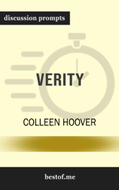 Verity by Colleen Hoover (Discussion Prompts)