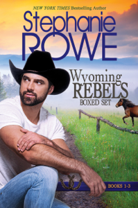 Wyoming Rebels Boxed Set (Books 1-3) Book Cover
