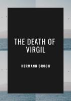 Hermann Broch - The Death of Virgil artwork