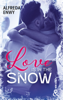 Alfreda Enwy - Love is in the snow illustration