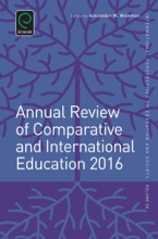 Annual Review Of Comparative And International Education 2016