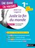 Analyse et étude de l'oeuvre-Juste la fin du Monde de Lagarce - Réussir son BAC Français 1re 2021 - Parcours associé Crise personnelle, crise familiale - Une oeuvre, un parcours - EPUB 2021