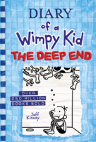 The Deep End (Diary of a Wimpy Kid Book 15) book cover