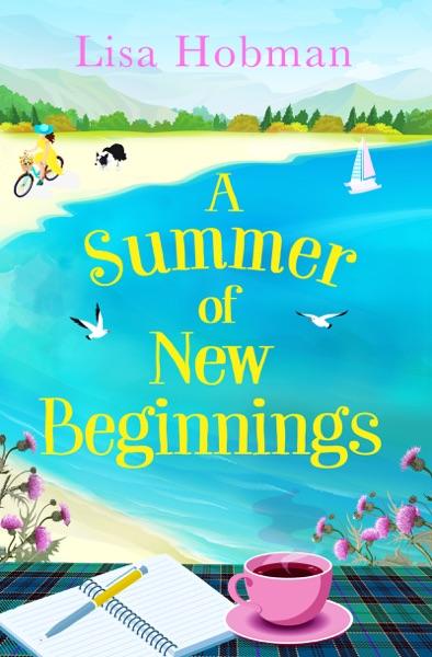 A Summer of New Beginnings - Lisa Hobman book cover