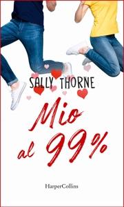 Mio al 99% di Sally Thorne Copertina del libro