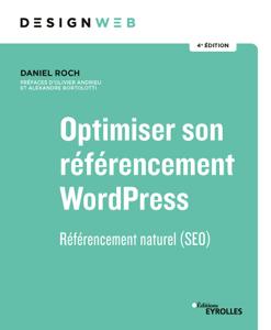Optimiser son référencement WordPress - 4e édition Couverture de livre