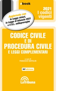 Codice civile e di procedura civile e leggi complementari Book Cover