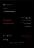Chimica Fisica: La cinetica chimica