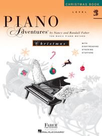Piano Adventures - Level 2B Christmas Book