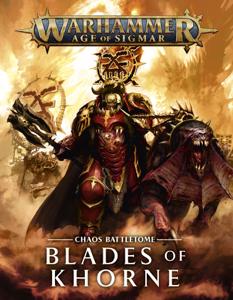 Battletome: Blades of Khorne La couverture du livre martien