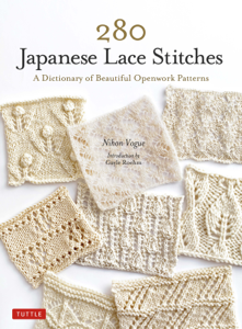 280 Japanese Lace Stitches Copertina del libro