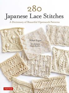 280 Japanese Lace Stitches Copertina del libro