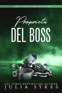 Proprietà del Boss di Julia Sykes Copertina del libro