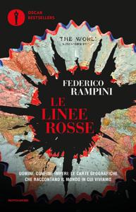 Le linee rosse Copertina del libro