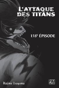 L'Attaque des Titans Chapitre 138 Couverture de livre