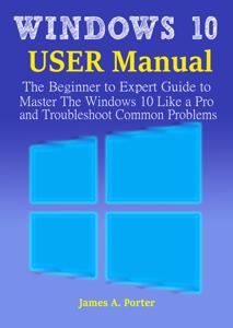 Windows 10 User Manual Book Cover
