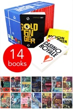 The Complete James Bond Collection 14 Books Set