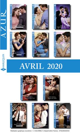 Pack mensuel Azur : 11 romans + 1 gratuit (Avril 2020) - Collectif