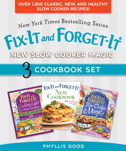 Fix-It and Forget-It New Slow Cooker Magic Box Set - Phyllis Good