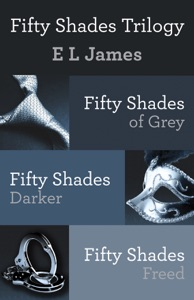 Fifty Shades Trilogy Book Cover