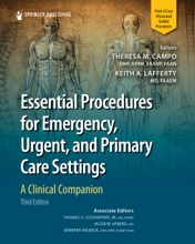 Essential Procedures For Emergency, Urgent, And Primary Care Settings, Third Edition