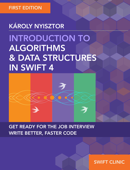 Introduction to Algorithms and Data Structures in Swift 4 Book Cover