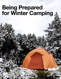 Being Prepared for Winter Camping