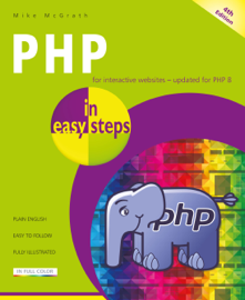 PHP in easy steps, 4th edition