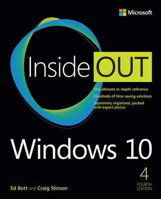Windows 10 Inside Out, 4/e