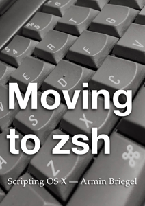 Moving to zsh Copertina del libro