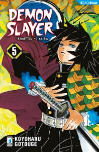 Demon Slayer - Kimetsu no yaiba 5 Copertina del libro