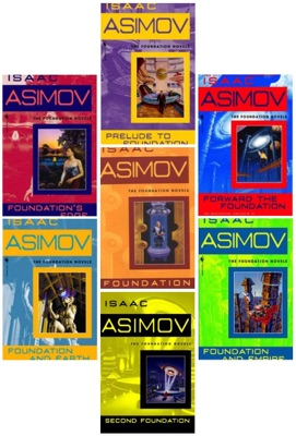 The Complete Isaac Asimov's Foundation Series Books 1-7