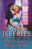 Sabrina Jeffries - Who Wants to Marry a Duke bild