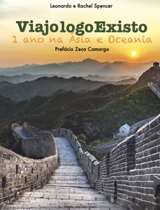 Viajo logo existo um ano na Ásia e Oceania Book Cover