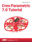 Creo Parametric 7.0 Tutorial Book Cover