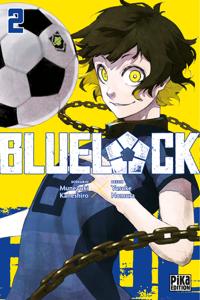 Blue Lock T02 Couverture de livre