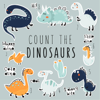 Children Book - Count the Dinosaurs  artwork