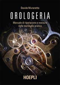 Orologeria Copertina del libro