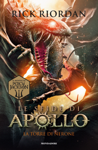 Le sfide di Apollo - 5. La torre di Nerone Book Cover